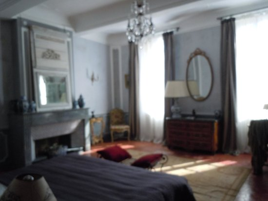 Le Clos Violette : Amazing suite - such sumptuous decor