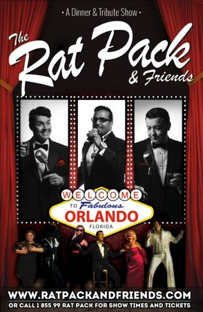Rat Pack and Friends Dinner Show Orlando