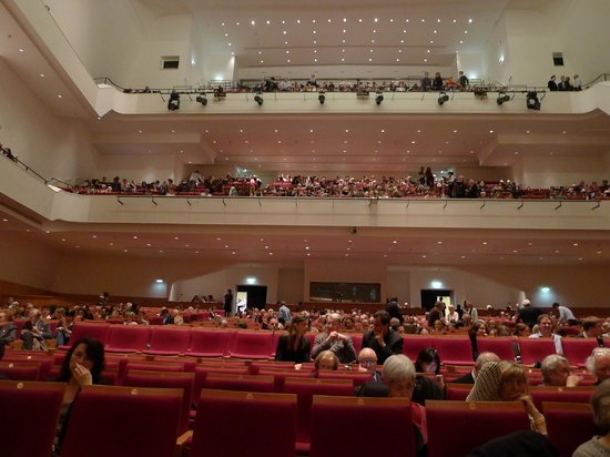 Salle Pleyel: The concert hall is very spacious