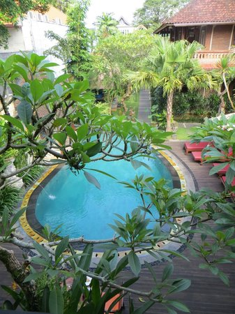 Lumbung Sari Cottages: View from our room