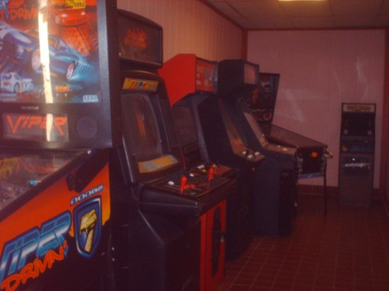 Quality Inn: Game machines