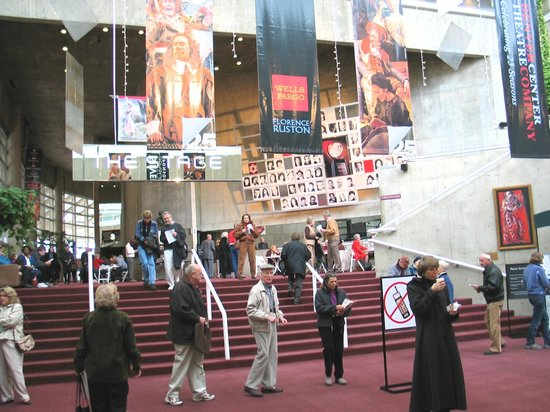 Denver Center Theatre Company : Lobby - Stage theater is upstairs - Space is downstairs