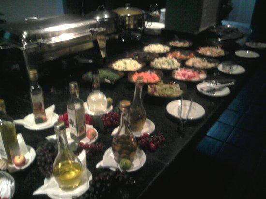 Cipo Veraneio Hotel: restaurante comida maravilhosa