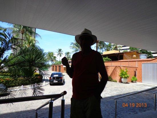 Ritz Plazamar Hotel: Entrada do hotel