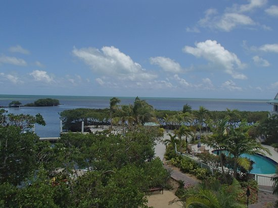 MB at Key Largo: From Balcony