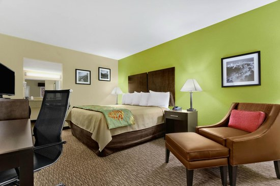 Quality Inn Asheville Downtown Tunnel Road: King Guest Room