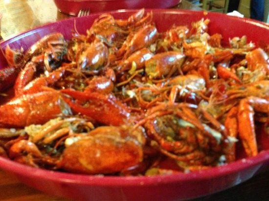 Hawk's Restaurant: Hawks Super-Clean & Delicious Crawfish