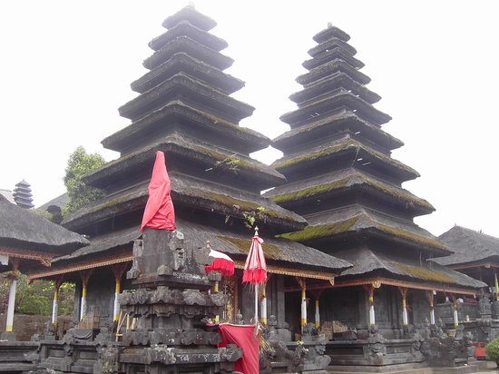 White Lotus Yoga & Meditation Centre: Temple near Ubud