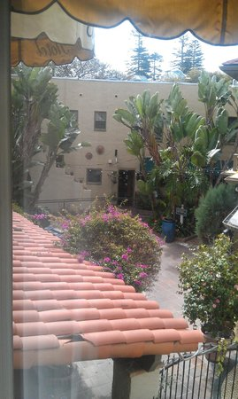 El Cordova Hotel: Courtyard from Room 47