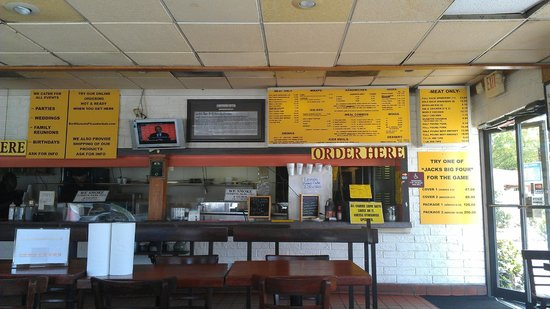 Jack's Bar-B-Q Smokehouse: Order Area