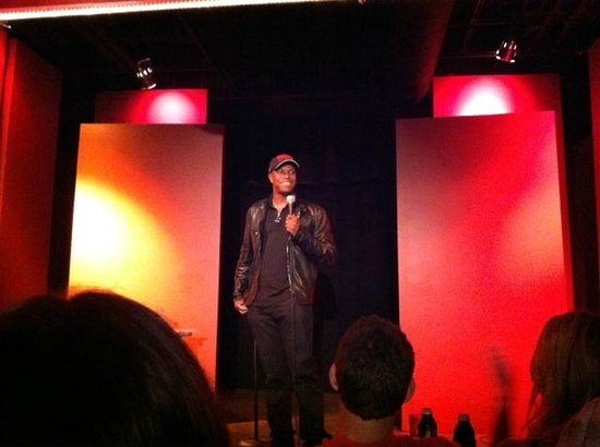 Laughing Skull Lounge: Chris Tucker showed up and did a set!