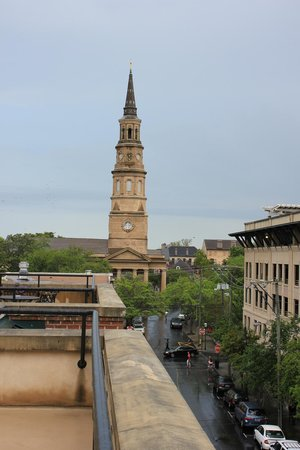 French Quarter Inn: View from the terrace