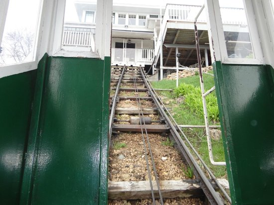 View from top looking down picture of fenelon place for Hillside elevator cost