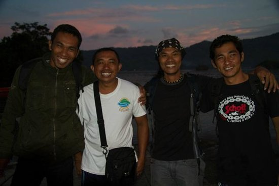 Eco Divers Resort Lembeh: The best dive guides in the business - thanks to Nando, Denny, Horin and Man