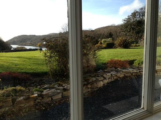 Mallmore Country House: view thru' the bedroom window
