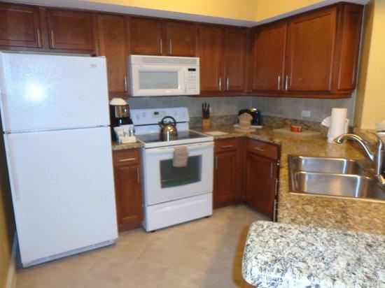 Marriott's Villas at Doral: Kitchen