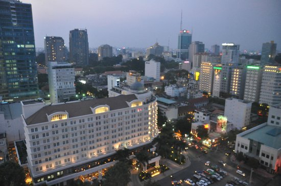 Caravelle Saigon: 部屋からの眺め