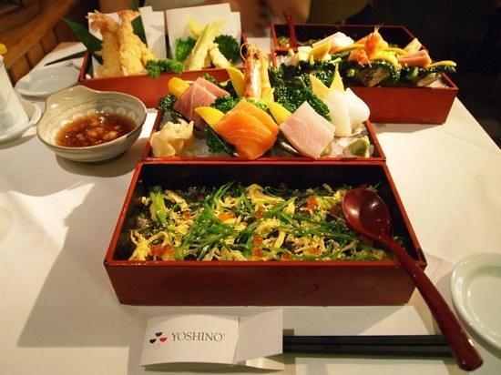 Restaurant Yoshino: 美味しい和食。