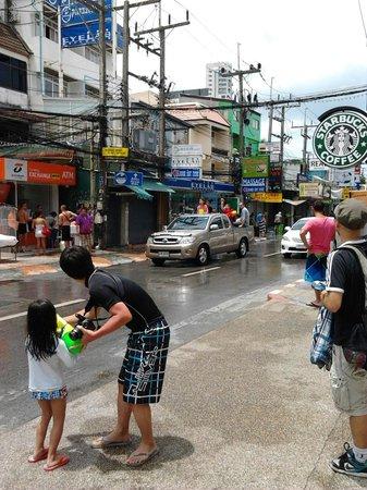 La Flora Resort Patong: ソンクラーン祭り