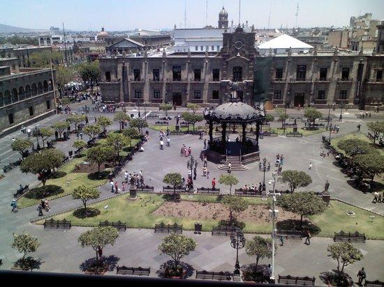 One Guadalajara Centro Històrico : una vista genial desde la habitacion hotel one