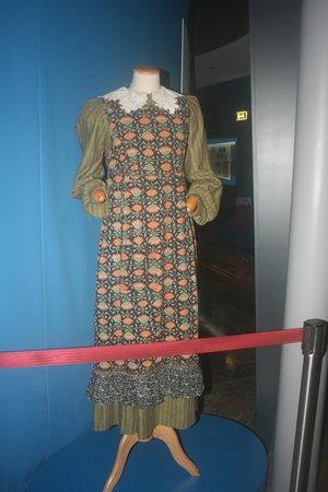 Salzburg Museum : One of Maria's original dresses