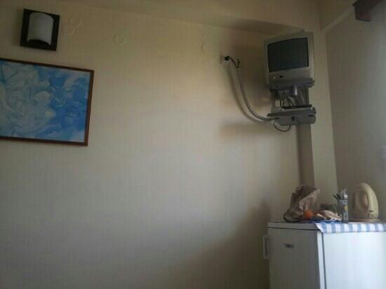 Morpheas Apartments: dettaglio della stanza