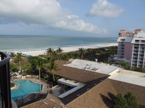 Hilton Marco Island Beach Resort: View from our room