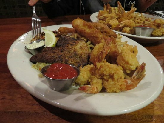 Ultimate Fish and Shrimp Picture of Claim Jumper Restaurants