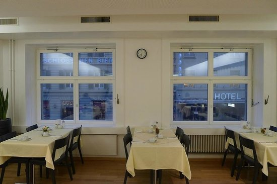 Hotel Kreuz Bern: Breakfast room