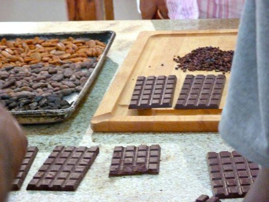 Belcampo Lodge: Chocolate making, new Agritourism center, chocolate building