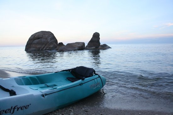 Silavadee Pool Spa Resort : kayak for free