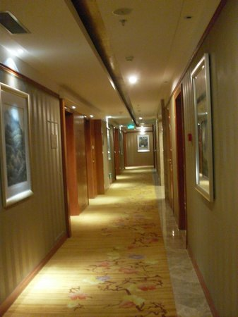 Empark Grand Hotel Anhui: Decor is very well done.