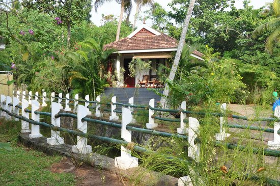 The World Backwaters: Cottage Exterior