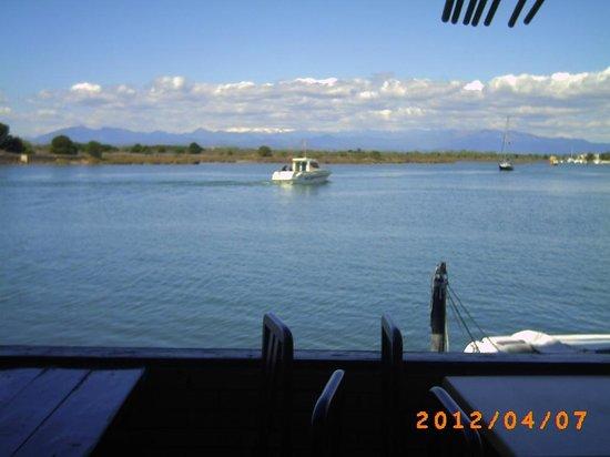 Meson El Cura : vue de la terrasse