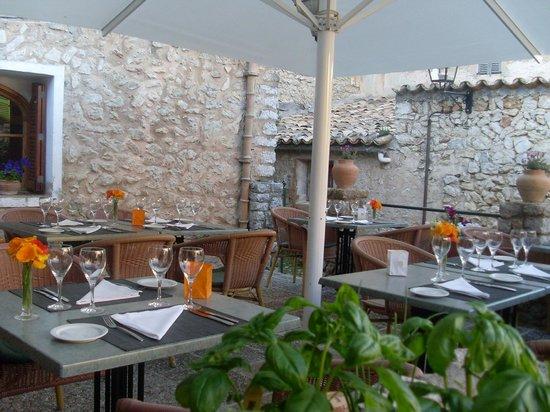 Restaurant Mandala: La terraza del Mandala