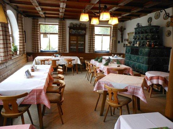 Hotel Friedenshöhe: Angolo della sala ristorante