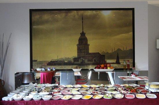 Eternity Boutique Hotel : Breakfast buffet