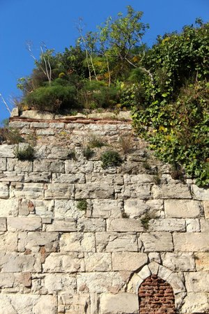 Eternity Boutique Hotel: Old wall next to hotel