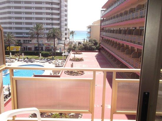 Hotel Helios: vue de la chambre