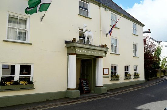 The White Hart Hotel : The White Hart, Moretonhampstead