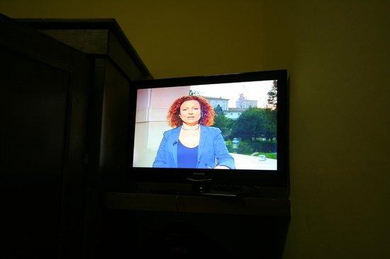 Hotel Nizza: la tv lcd
