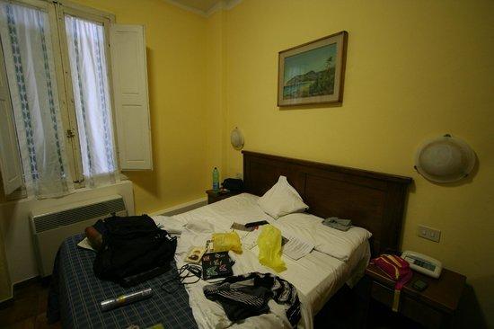 Hotel Nizza: la camera