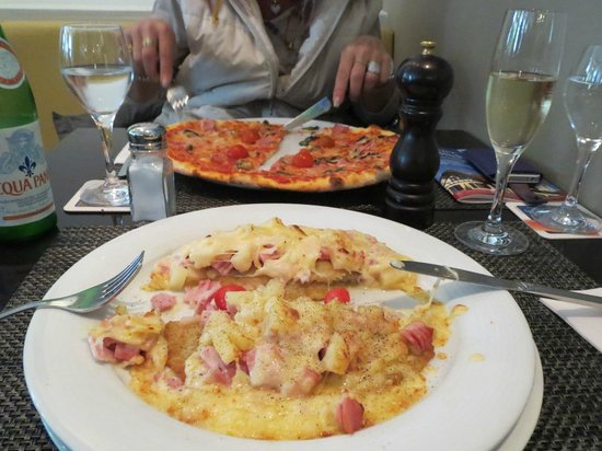 Tolle Knolle: frittelle di patate e pizza