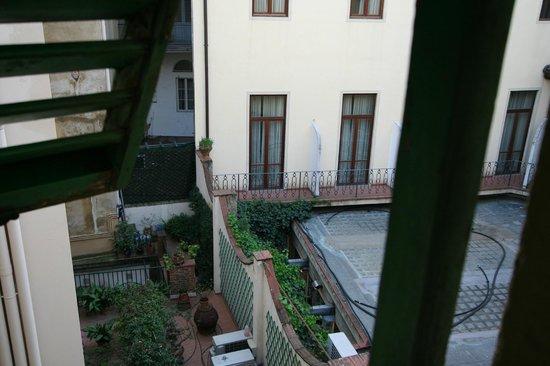 Hotel Nizza: vista dalla camera