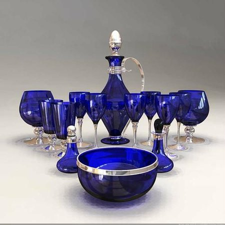 Silver Luxury Vases Bowls And Wine Glasses Picture Of Bristol