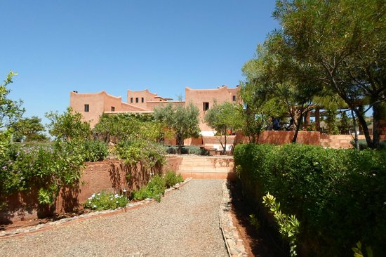 Kasbah Bab Ourika: From the Gardens