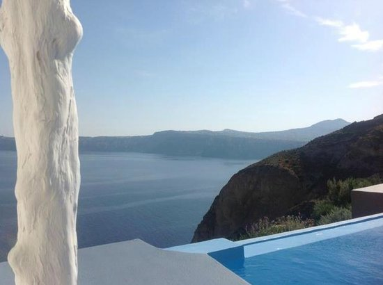 Astarte Suites: View from the pool