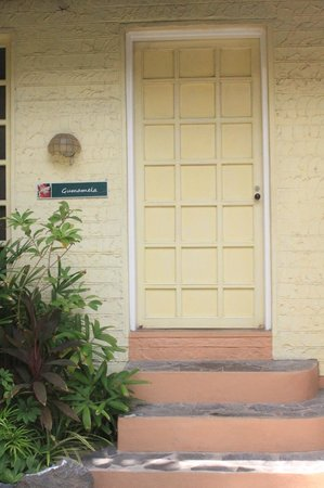 R&R Resort Spa: The door of our cabana