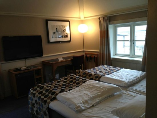 Clarion Collection Hotel Tollboden: Eckzimmer im dritten Stock