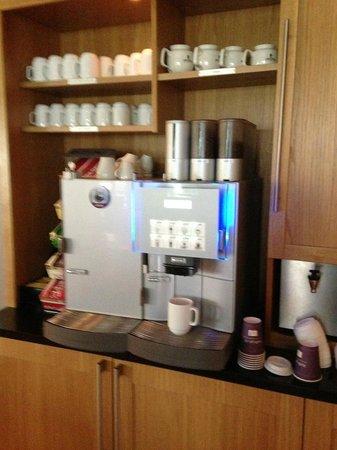 Clarion Collection Hotel Tollboden: Kostenloser Kaffee - den ganzen Tag